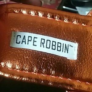 Cape Robbin Shoes - BRAND NEW METALLIC COPPER SANDALS FLATS SIZE 6.5